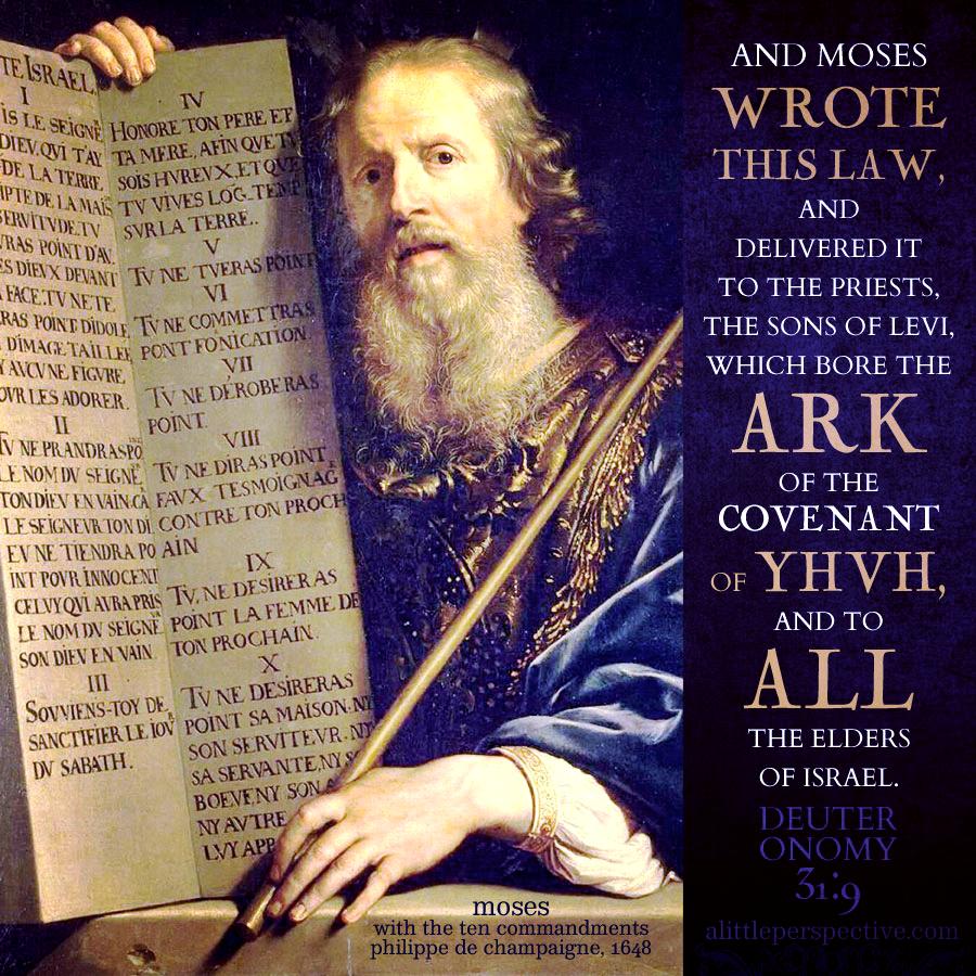 Deu 31:9   Scripture Pictures @ alittleperspective.com