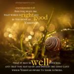 Deu 6:18 | Scripture Pictures @ alittleperspective.com