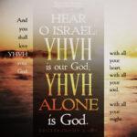 Deu 6:4-5 | Scripture Pictures @ alittleperspective.com