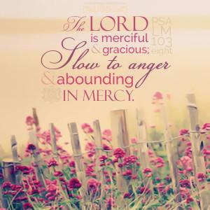 Psa 103:8