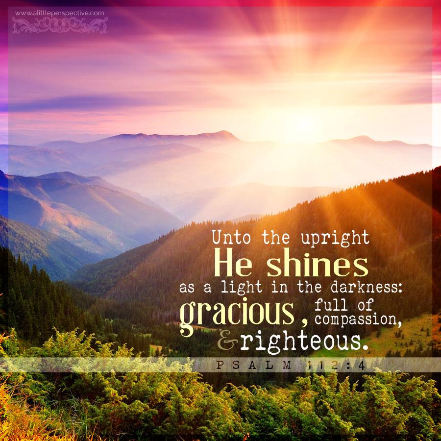 Psa 112:4