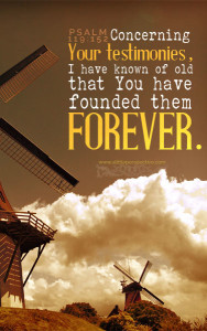 Psa 119:152 cell wallpaper | scripture pictures at alittleperspective.com