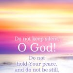 Psa 83:1 cell wallpaper | scripture pictures at alittleperspective.com