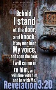 Rev 3:20 cell wallpaper | scripture pictures at alittleperspective.com