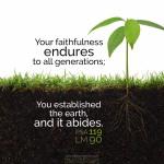 Psa 119:90