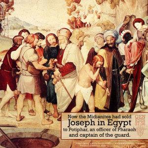 Gen 37:36 | scripture pictures at alittleperspective.com