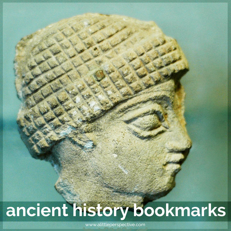 ancient history bookmarks | a little perspective