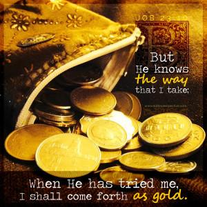 Job 23:10 | scripture pictures