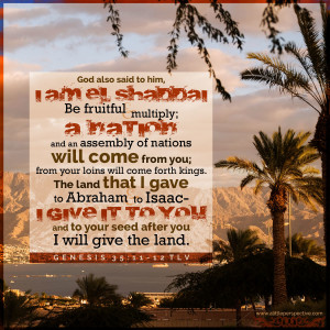 Gen 35:11-12 | scripture pictures at alittleperspective.com