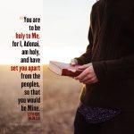 Lev 20:26 | scripture pictures at alittleperspective.com