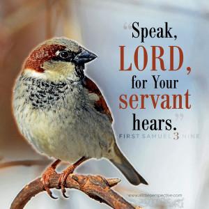 1 Sam 3:9 | scripture pictures at alittleperspective.com
