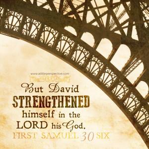 1 Sam 30:6 | scripture pictures at alittleperspective.com