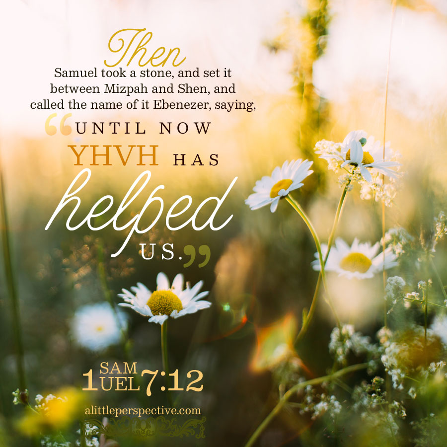 1 Sam 7:12 | scripture pictures at alittleperspective.com