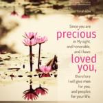 Isa 43:4 | Scripture Pictures @ alittleperspective.com