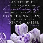 Joh 5:24 cell wallpaper | scripture pictures at alittleperspective.com