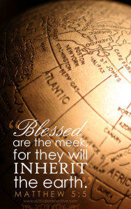 Mat 5:5 cell wallpaper | scripture pictures at alittleperspective.com