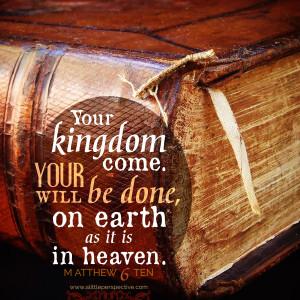 Mat 6:10