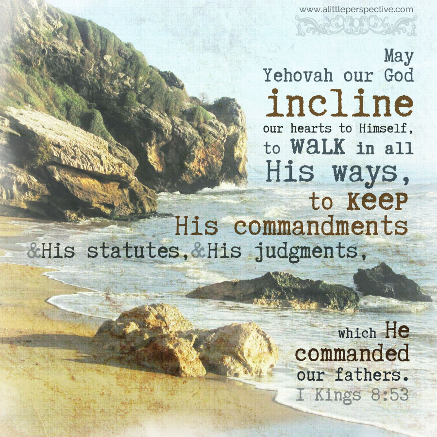 1 Kin 8:53 | scripture pictures at alittleperspective.com