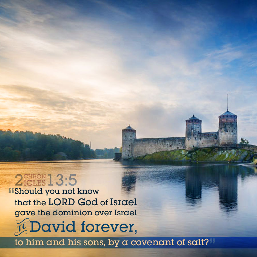 2 Chr 13:5 | scripture pictures at alittleperspective.com