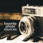 favorite photo sources