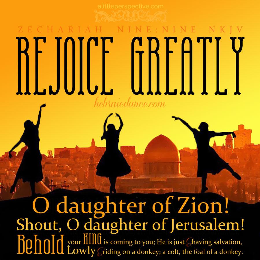 Zec 9:9 | scripture pictures at alittleperspective.com