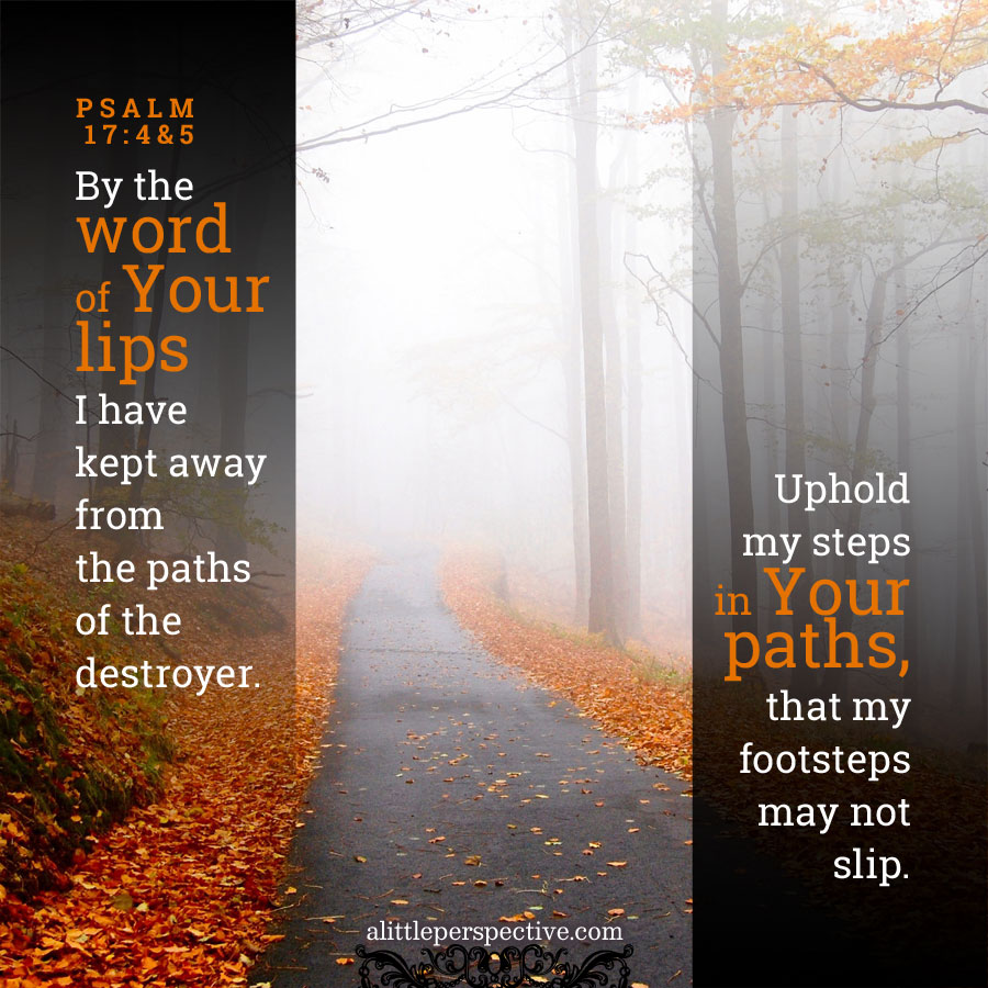 psalm 17, the two paths