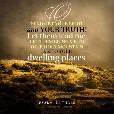 psalm 43 reverse parallelism