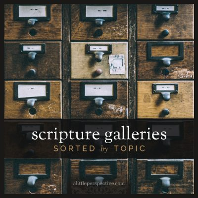 scripture galleries sorted by topic