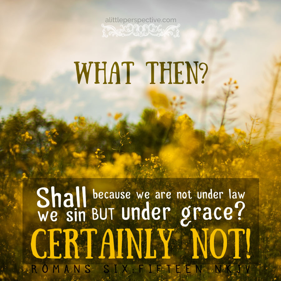romans 6, shall we continue in sin?