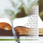 Jer 44:23 | scripture pictures at alittleperspective.com