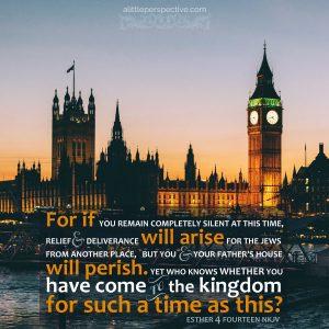 Est 4:14 | scripture pictures at alittleperspective.com