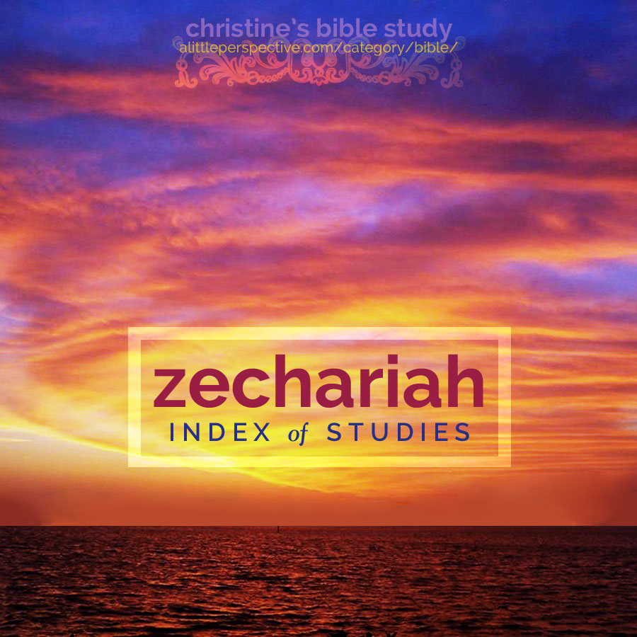zechariah index