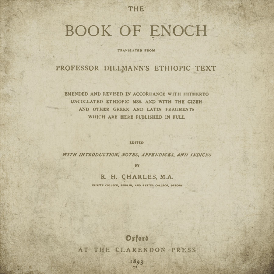 notes on the book of enoch
