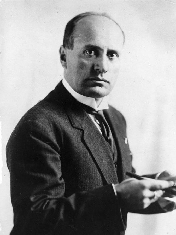 Benito Mussolini | alittleperspective.com