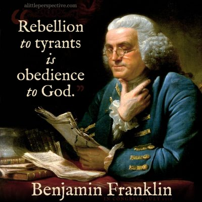 rebellion to tyrants