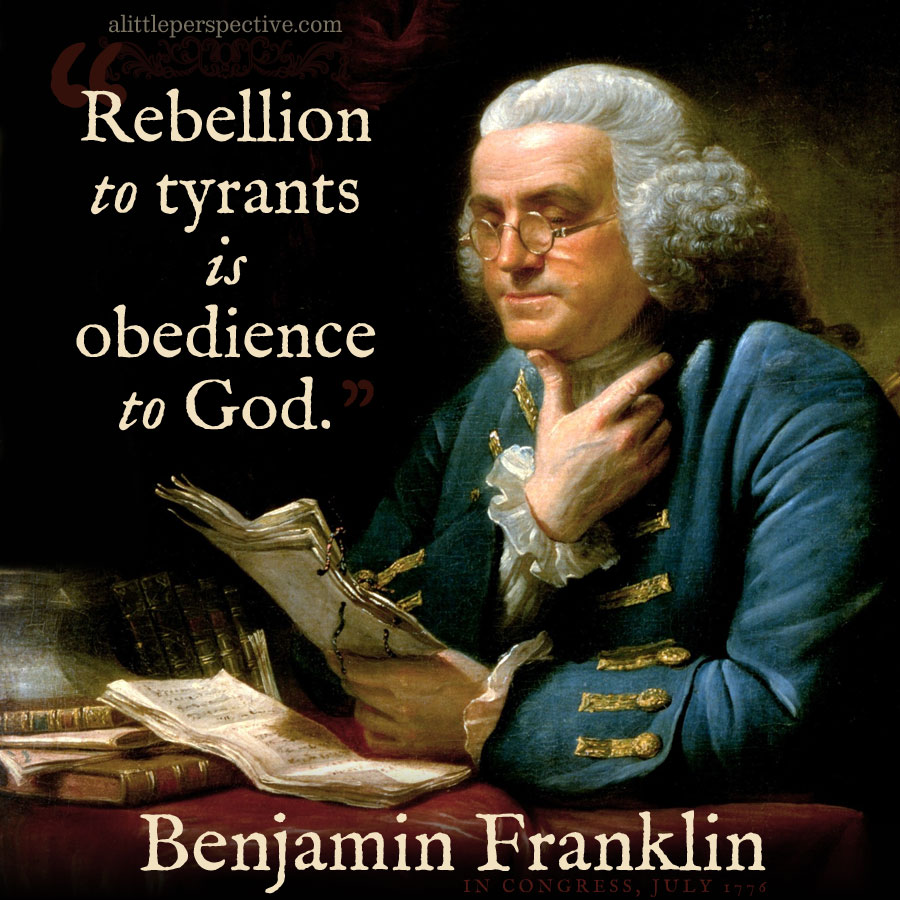Benjamin Franklin | famous quotes at alittleperspective.com