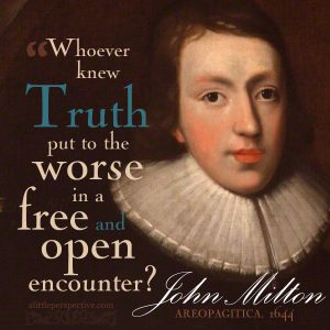 John Milton | famous quotes at alittleperspective.com