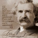 Mark Twain | famous quotes at alittleperspective.com