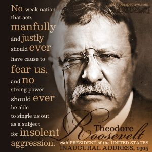 Theodore Roosevelt | famous quotes at alittleperspective.com
