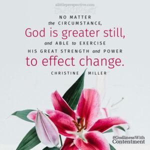 Christine Miller | alittleperspective.com
