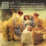 genesis 34:1-31, defilement with canaanites