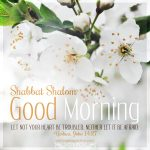 good morning shabbat shalom | daily blessings at alittleperspective.com