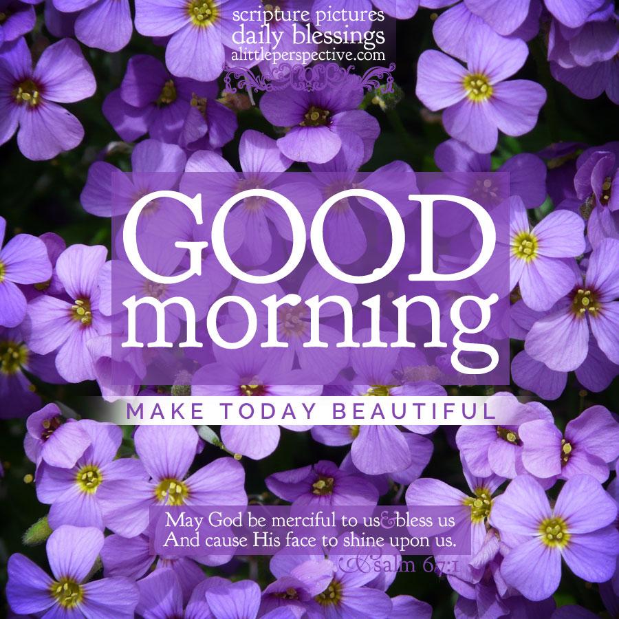 good morning purples