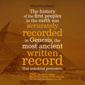 Christine Miller | The Story of the Greeks | nothingnewpress.com