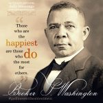 Booker T. Washington | godliness with contentment at alittleperspective.com