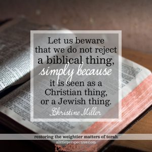let us beware | Christine Miller @ alittleperspective.com