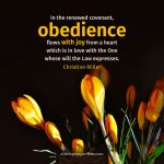 obedience | Christine Miller @ alittleperspective.com