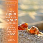 open our eyes | Christine Miller @ alittleperspective.com
