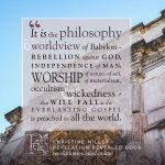 philosophy | Christine Miller @ alittleperspective.com