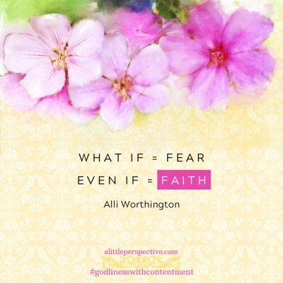 faith overcoming fear